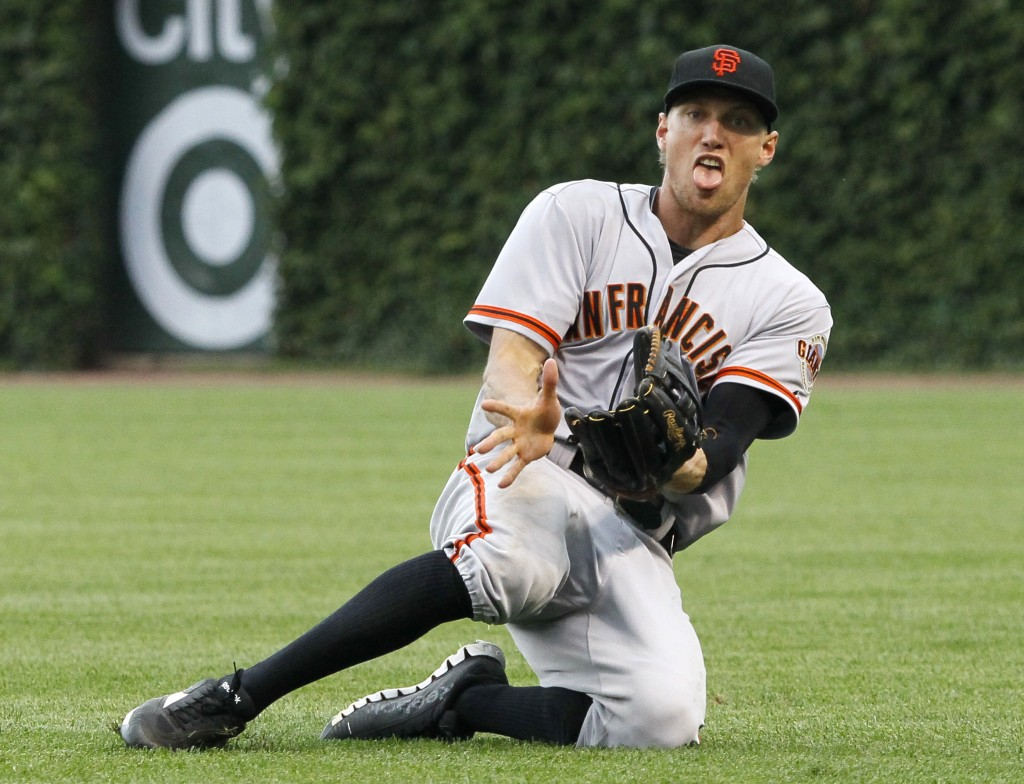 1adb1a6b7 Congratulations to Hunter Pence for his first 20/20 year and for the best  Miley Cyrus impersonation.