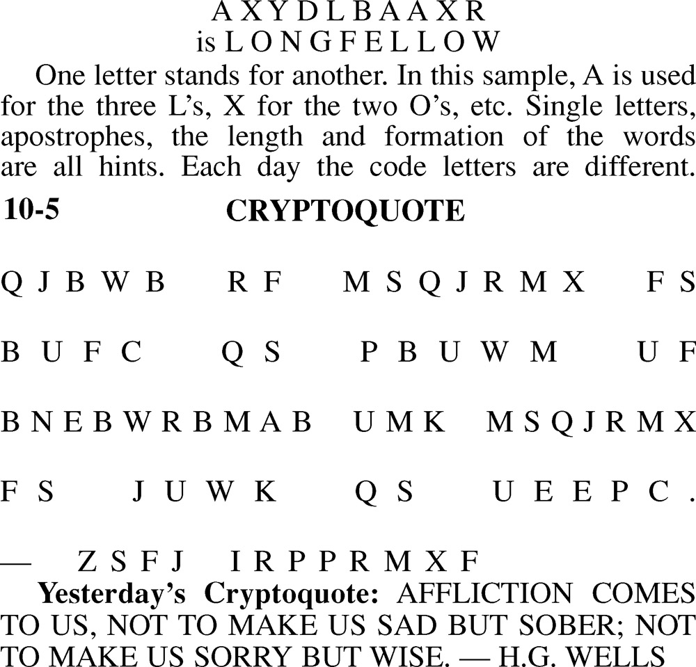 picture relating to Cryptoquote Printable named Cryptoquote