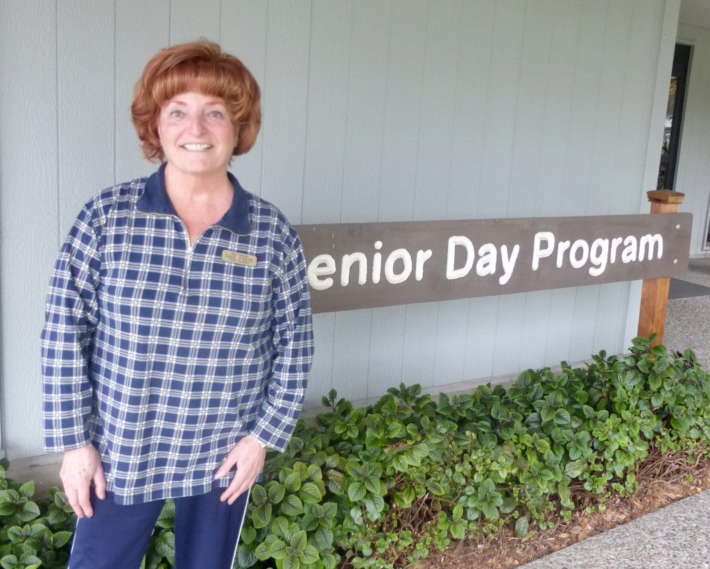 Gail Forte adult services travel volunteer at the Fairfied Senio