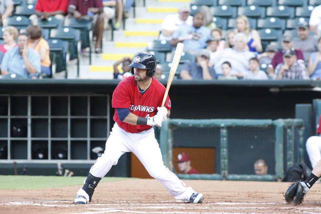 Vanden High graduate Andrew Aplin will be playing with the Oklahoma City Redhawks when they visit the Sacramento River Cats Saturday through Tuesday. (Courtesy photo)