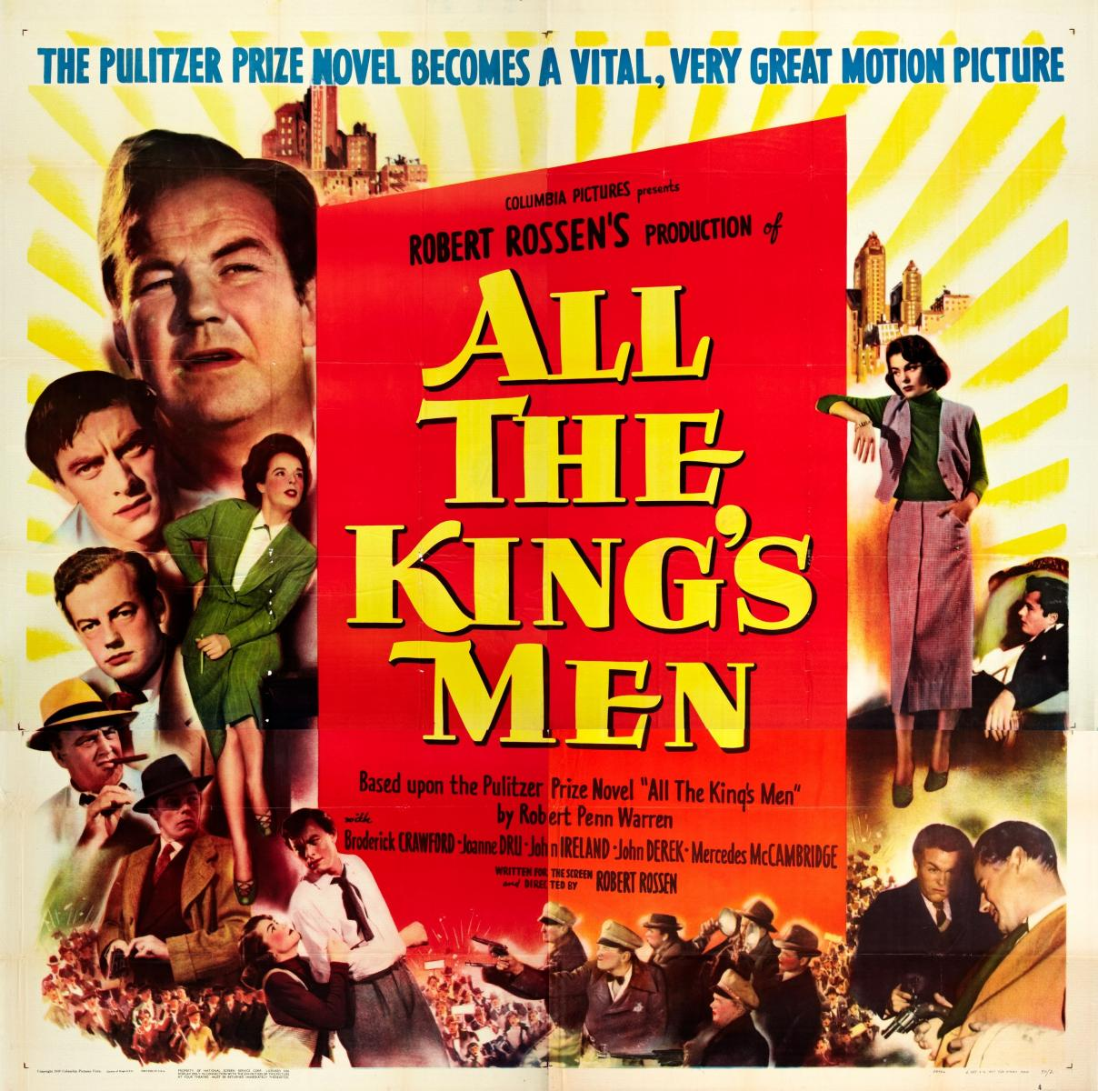 Image result for ALL THE KING'S MEN 1949 movie