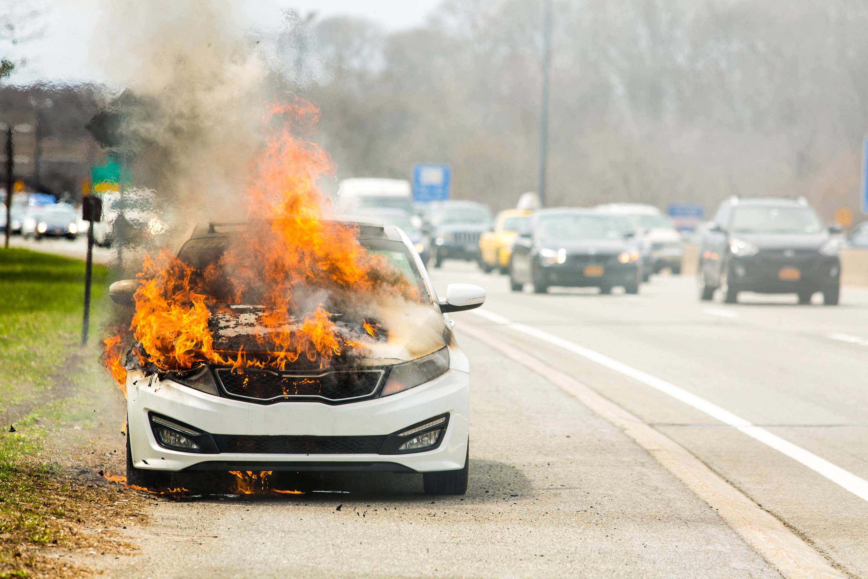 Under the Hood: What does it take to set a car on fire?